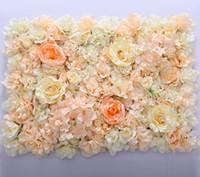 fiore muro di seta tracery rosa crittografia floreale sfondo fiori artificiali fase di matrimonio creativo spedizione gratuita WT055