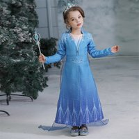 Snow Queen II Cosplay Fancy Princess Dress Coat for Girl Sno...