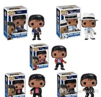 China Funko pop BEAT IT BILLIE JEAN BAD MICHAEL JACKSON figura de acción juguete modelo coleccionable