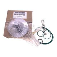 2pcs de envio livre / muito 2906069300 kit válvula de passagem (2906 0693 00) kit válvula de retenção / óleo para compressor de ar AC parafuso