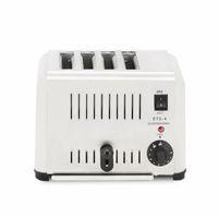 220v-230v 4 fatias torradeira elétrica, doméstico máquina inoxidável automática Pequeno-almoço torradeira aço, 4-Slice Bakeware Set elétrico Cozinha