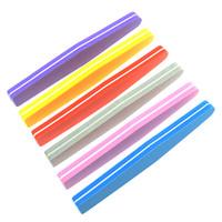 Meisha 30 Stücke Doppelseite Nagelfeilen Puffer 100/180 Trimmer Puffer Nagelkunstwerkzeuge Waschbar Polieren Schleifen Feile Schwamm HE0018