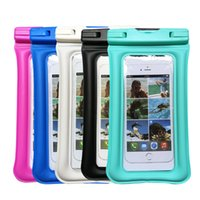 PVC Waterproof Phone dry bag Floating IPX8 Universal Clear W...