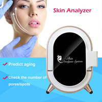 직업적인 피부 분석 기계 UV 마술 거울 피부 해석기 얼굴 해석기 피부 진단 체계 얼굴 분석 기계