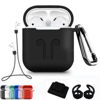 5Pcs Set Silicone Wireless Bluetooth Earphones Case For Airp...