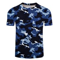Newest 3D Printed T- Shirt Ink Draw Pattern Short Sleeve Summ...