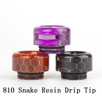 Hot 810 Epoxy Resin Drip Tips 18*12. 5mm For TFV12 Prince TFV...