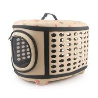 حقائب الكتف السفر القطة الأليفة زهرة EVA حاملي حقائب تنفس الوردي الطي كلب صغير في الهواء الطلق حقيبة بوس القطط حمل الشحن المجاني 2020