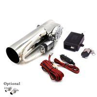 2.5 '' 3 '' дюймовый регулирующий клапан выхлопных выхлопных выхлопных трубы электрические выхлопные вырезы электрические с пультом дистанционного управления