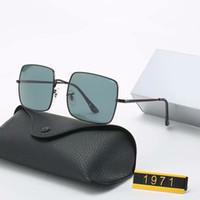 Venda de luxo Hot Sunglasses Vintage Pilot Sun Glasses Banda polarizado UV400 Homens Mulheres Ben óculos de lente de vidro com caixa e caixa