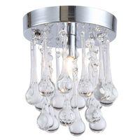 LED Хрустальная люстра 110V 220V Личность дождевая Crystal Light для междурядья Потолок Коридор Cristal Люстры Свет Люстры