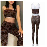 Digital Print Strapless Bra Pant Set 2pcs set Women Underwea...