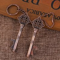 Wedding Favor Party Gift Creative Antique Key Chain Bottle O...