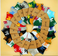 Chaussettes de Noël PlantLife pour hommes Femmes Chaussettes de coton de haute qualité Skateboard HiPhop Maple Feuille Sport Short Chaussettes En gros DHL Freed