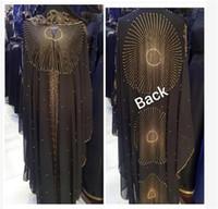 Escudo Bolero Mujer Abaya Dubai Djelaba Femme Robe Las mujeres Hijab Shrugs niqab musulmán moldeado del encogimiento de hombros de Cabo Boerka islámica túnica de Turquía