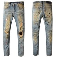 New Italy Style Men' s Distressed Hollow Out Oiled Paint...