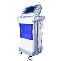 2019 HOT Hidro dermoabrasão Facial jato de oxigênio de água Máquina de Peeling Microdermoabrasão máquina Cuidado Facial rejuvenescimento da pele