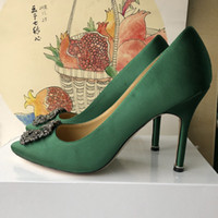 Women Patent Poined Toe Women Pumps Fashion Bottom High Heels Shoes for Women Wedding shoes by woman shoes