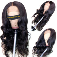 Human Hair Wigs Lace Front Human Hair Wigs 4*4 Lace Closure ...