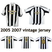 2005 OWEN Boumsong DYER Duff Ameobi MILNER DUFF NOVO camisa de futebol 2006 Alan Shearer camisa de futebol retro depoimento 2007 vintage clássico