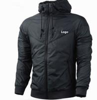 Marke SweatshirtHoodie Männer Frauen Jacken-Mantel-lange Hülse mit Logo Herbst Sport Zipper Windbreaker Designer Mens plus Größe XXXL Pullover