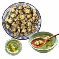 Горячий Хризантемовый Чай Супер Класс Традиционный Китайский Ханчжоу Цветочный Чай Дикий Уменьшить Внутреннее Тепло Здравоохранения Навалом