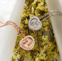 bijoux S925 collier en argent sterling collier pendentif CNC fleurs pour les femmes libres de l'expédition