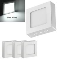 الخيالة LED لوحة ضوء سطح السقف LED النازل مصباح سقف 6W غير عكس الضوء لغرف النوم، مخزن، غرفة الاجتماعات