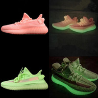 2019 New V2 Kanye West Running Shoes True Form Hyperspace Cl...