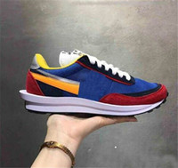 2019 Wholesale Sacai LDV Waffle Daybreak Trainers Mens Sneak...