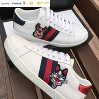 Liujingang6 0084 webbing animal embroidery casual shoes SNEA...