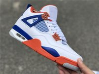 High Quality Jumpman 4s Mens Basketball Shoes 4s White Cemen...
