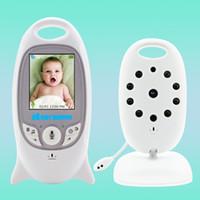 Üst Kalite Kablosuz Video Renk Bebek Monitörü Gece Görüş Bebek Güvenlik Kamerası V601 Sıcaklık Bebek Eletronica