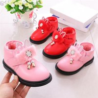 Baby Shoes Toddler Infant Kids Girls Winter Keep Warm Bootie...