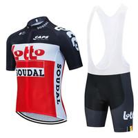 Ciclismo Jersey set 2020 Pro TEAM abbigliamento LOTTO ciclismo uomo / donne estate traspirante maglia MTB 9D gel pad bib mette il corredo Ropa Ciclismo