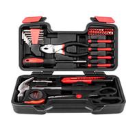 Ensemble d'outils Husky Set 39pcs Kit de réparation de la clé à cliquet automobile