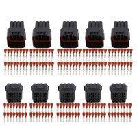 5 insiemi / Kit 16 Pin / Way impermeabile connettore del legare elettrico DJ7163Y-2,2-21 / 11 maschili e femminili del connettore per automobili
