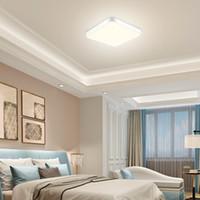 초슬림 천장 평방 침실 현대적인 미니멀 한 북유럽 거실 식당 통로가 고성능 LED 천장 조명 조명 램프 주도