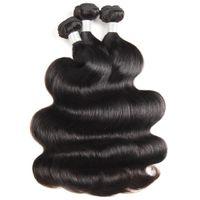 ishow 12a 루즈 웨이브 원시 인간의 머리카락 확장 3/4 번들 킨키 곱슬 바디 브라질 페루 말레이시아 인도 머리카락 위대한 여성을위한 모든 시대의 자연 색상