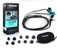 SE215 Kulak HIFI Kulaklık Gürültü Iptal Kulaklık Perakende Paketi ile Handsfree Kulaklık