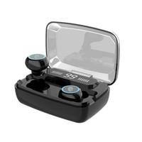 원래 무선 헤드폰 M11 TWS 블루투스 5.0 이어폰 이어폰 소음 감소 HIFI IPX7 방수 헤드셋 스포츠 용