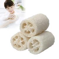 Esponja vegetal Luffa Loofa Cuidado Corporal Peeling ducha de masaje esponja y utensilios de cocina