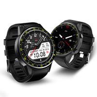 F1 Smart Watch GPS e bussola Posizionamento Monitoraggio della frequenza cardiaca Altitudine Pressione Sport all'aria aperta Guarda per Android e IOS