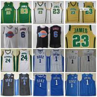 ST Vincent Mary School Irish Lebron James Jerseys St. Patrick Kyrie Irving Basketball Jersey Tune Squad Duke Devils