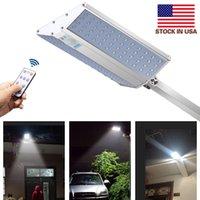 1200LM Solar Garden Light 96 светодиодов IP65 Integrate Split Solar Street Light Регулируемый угол наружной солнечной стены + американский фонарь
