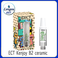 Authentic ECT Kenjoy B2 ceramic vape cartridges e cigarette ...