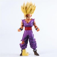 25cm Anime Dragon Ball Z Super Saiyan Son Gohan Action Figures Master Stars Piece Dragonball Figurine Modello da collezione Toy