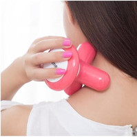 1PC Mini Electric Handled Wave Vibrating Massager USB Batter...