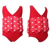 Плавающий купальный костюм съемный плавающий соединенный тренировочный купальный костюм для младенцев мальчиков и девочек купальник детский спортивный плавать