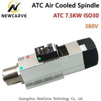 ATC Spindle 7. 5KW 380V ATC Air Cooled Spindle Motor ISO30 24...